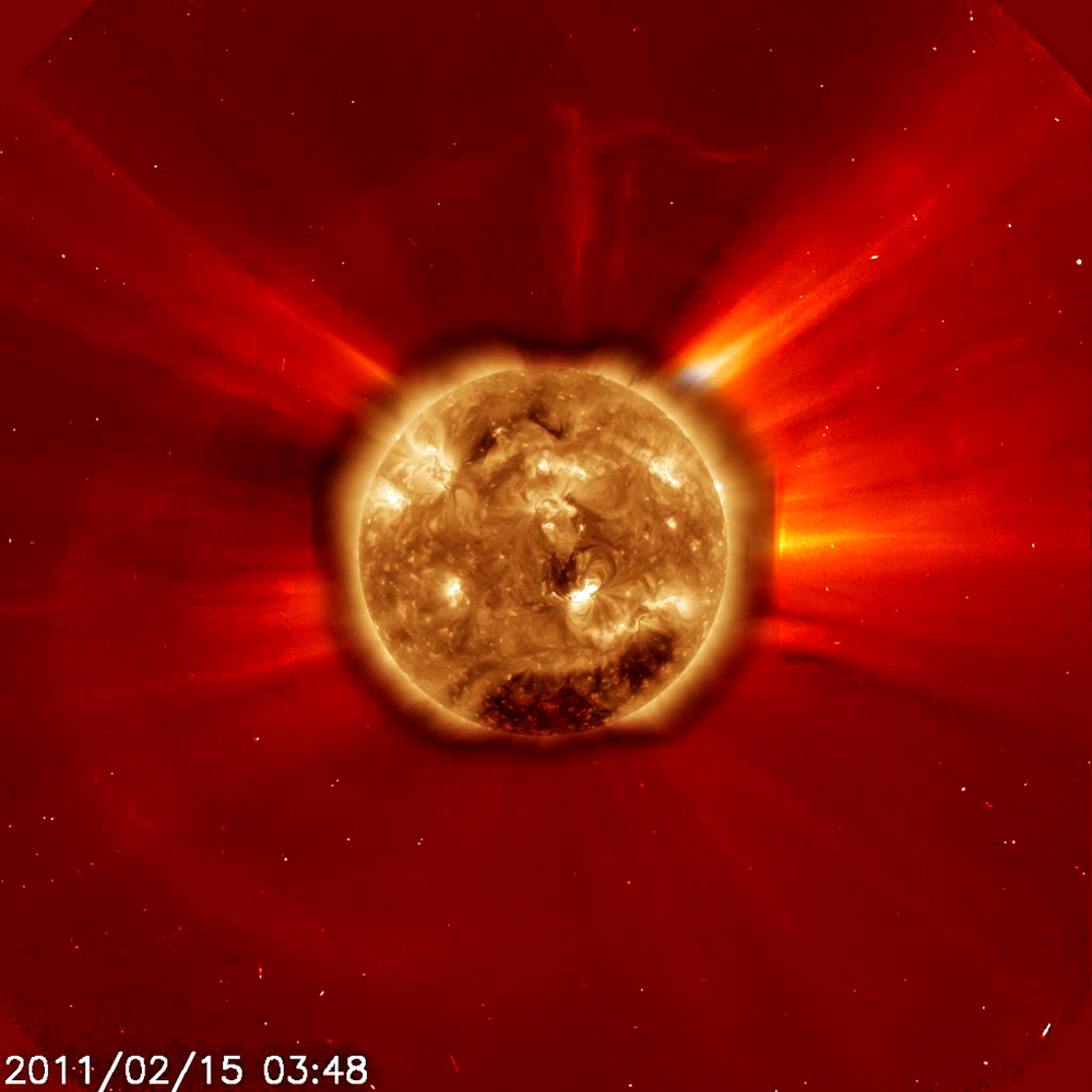Class X2 Solar Flare