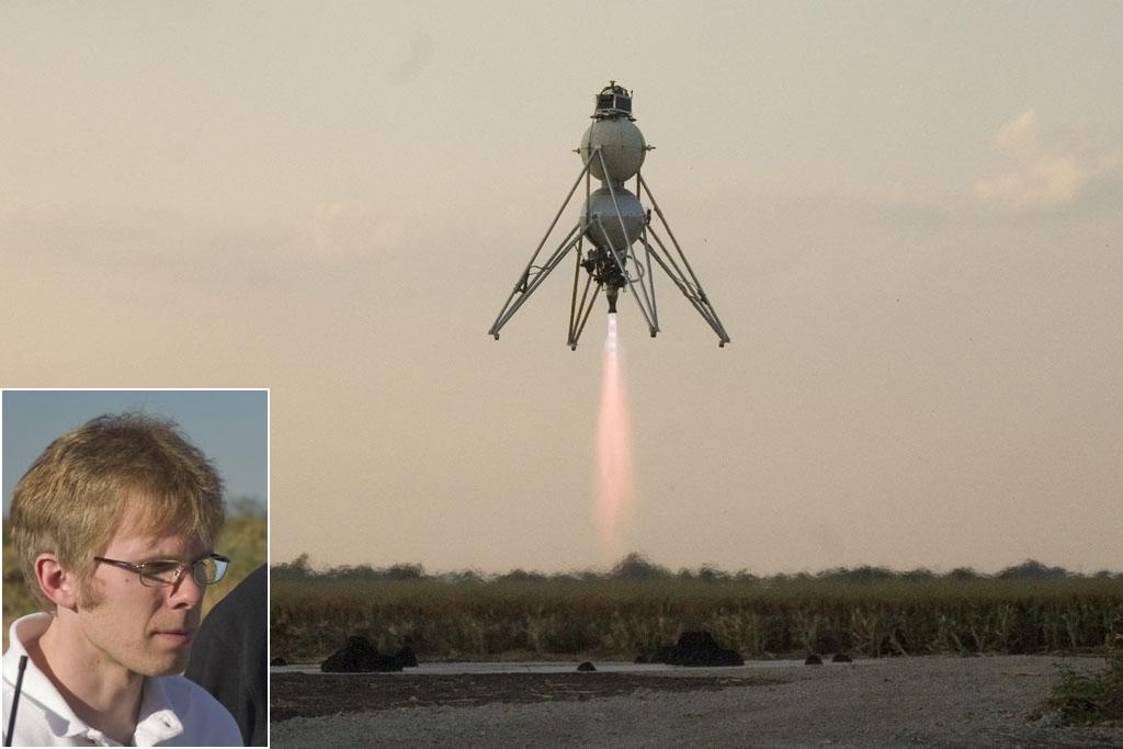 John Carmack of Armadillo Aerospace