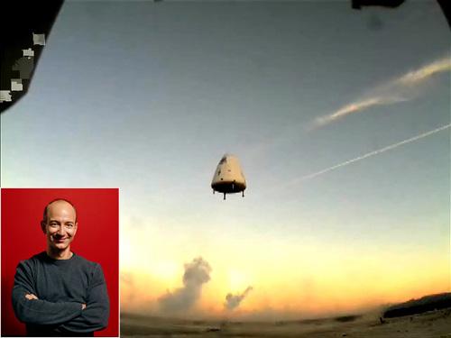Jeff Bezos – Blue Origin