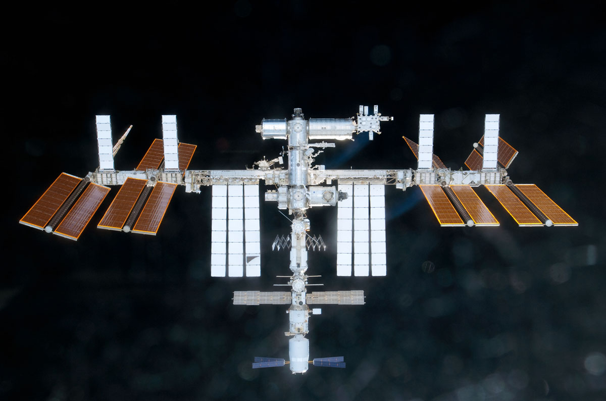Space Station in Sight