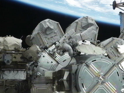 Robotic Arm Malfunction Leaves Spacewalking Astronaut Temporarily Stuck