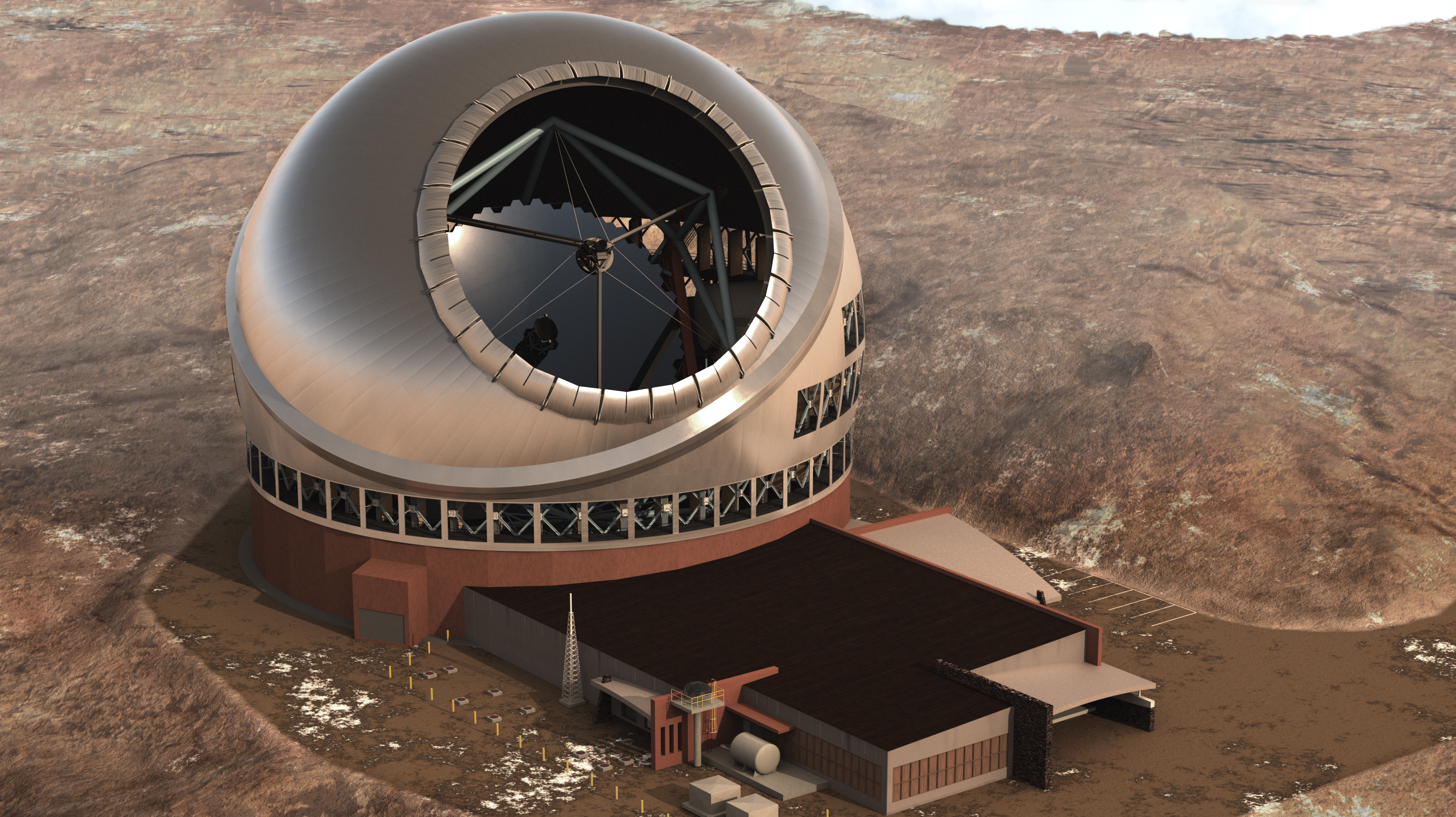 Hawaii Approves Plan for Giant Telescope Atop Dormant Volcano