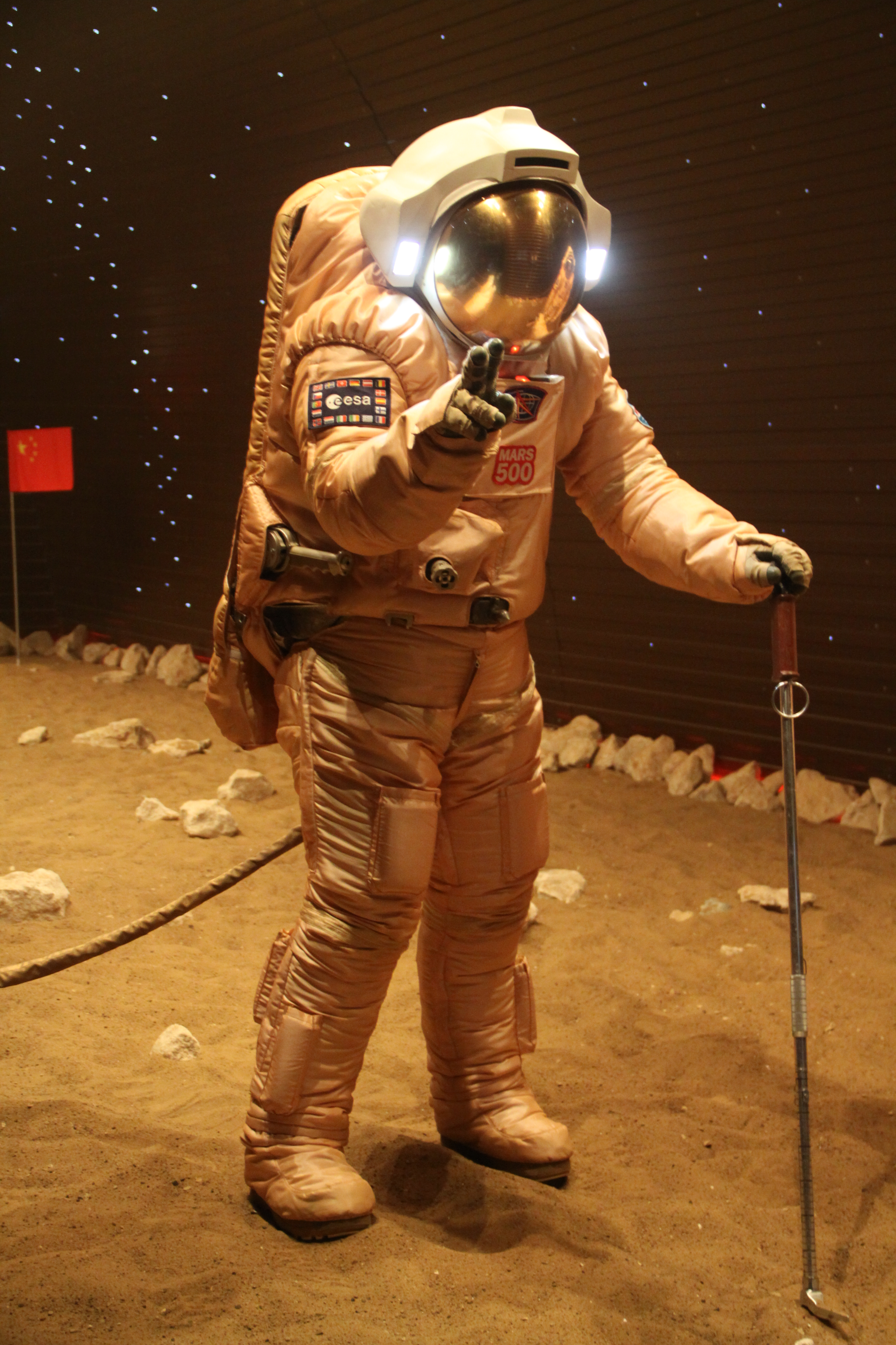Mars500 Astronaut Diego Urbina Takes