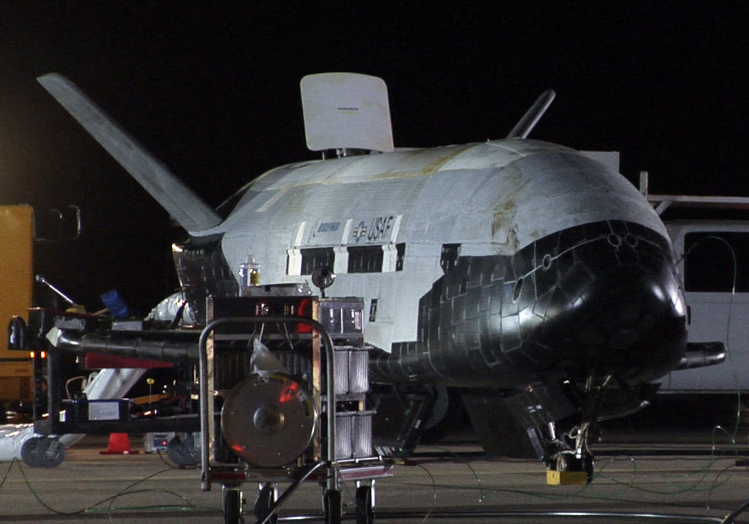 Air Force's X-37B Space Plane Launching on Secret Mission Friday