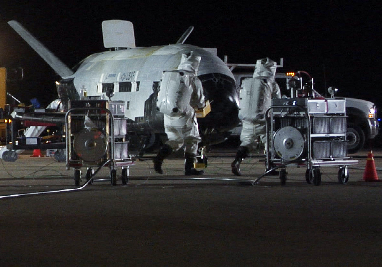 X-37B Walkaround