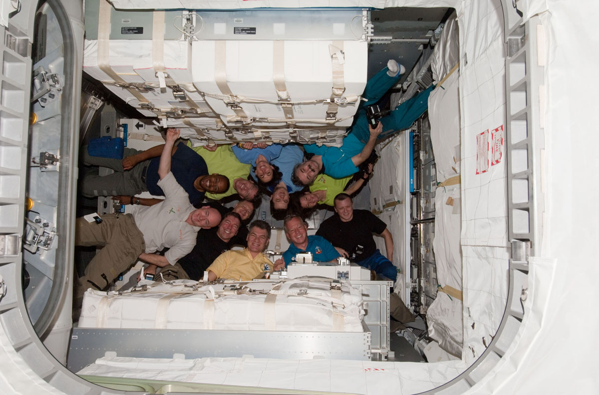 On Space Station, Discovery Astronauts Wrap Up Final Work