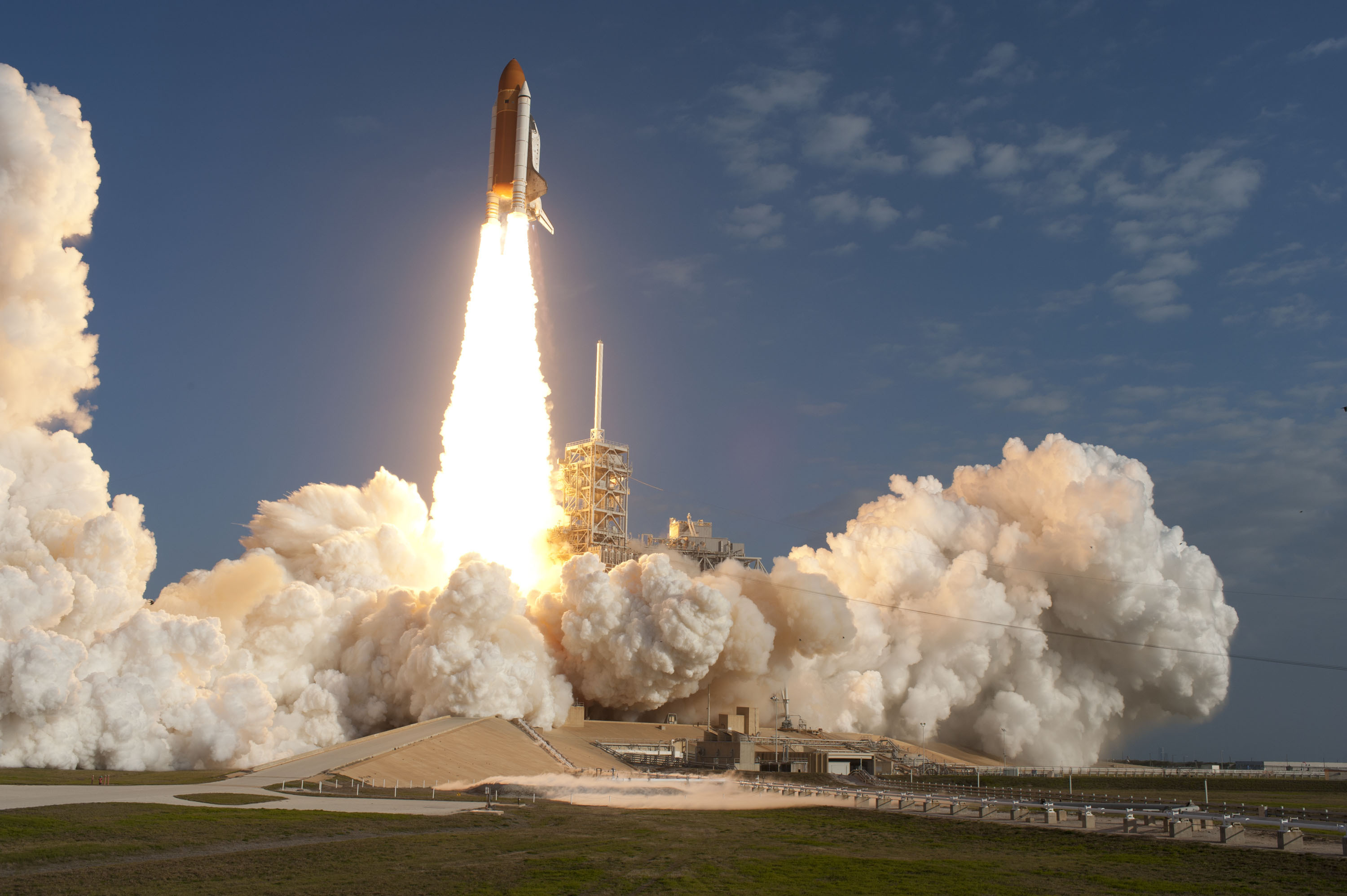 Discovery Spent Entire Year in Orbit