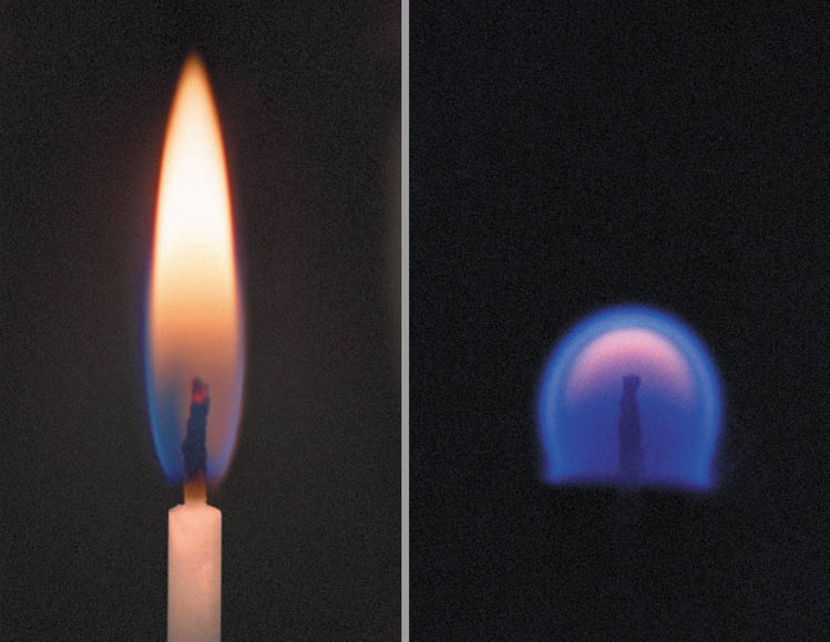 Flames Are Spheres