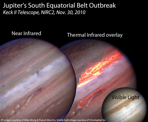 As Belt of Jupiter Returns, Puzzled Scientists Take a Deep Look