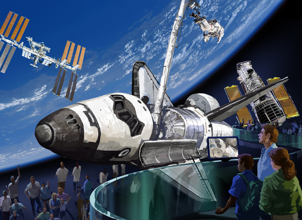 NASA Chose Right Museums for Retired Space Shuttles, Report Finds