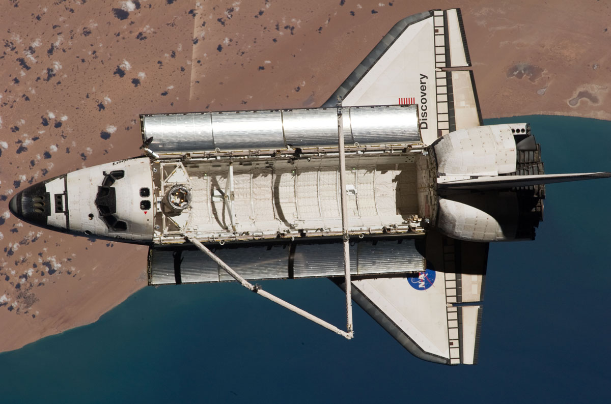 Last Landing Day for Space Shuttle Discovery