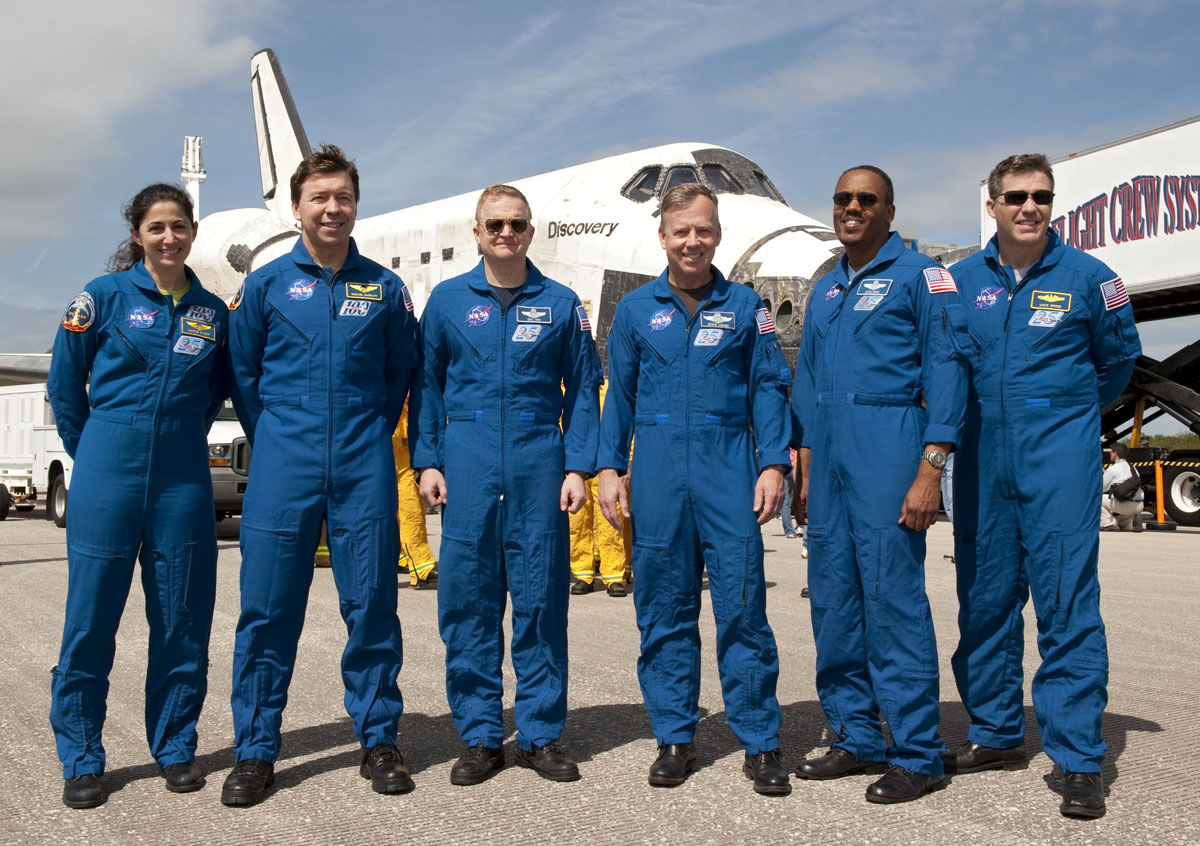 Discovery's Last Crew: A Final Pose