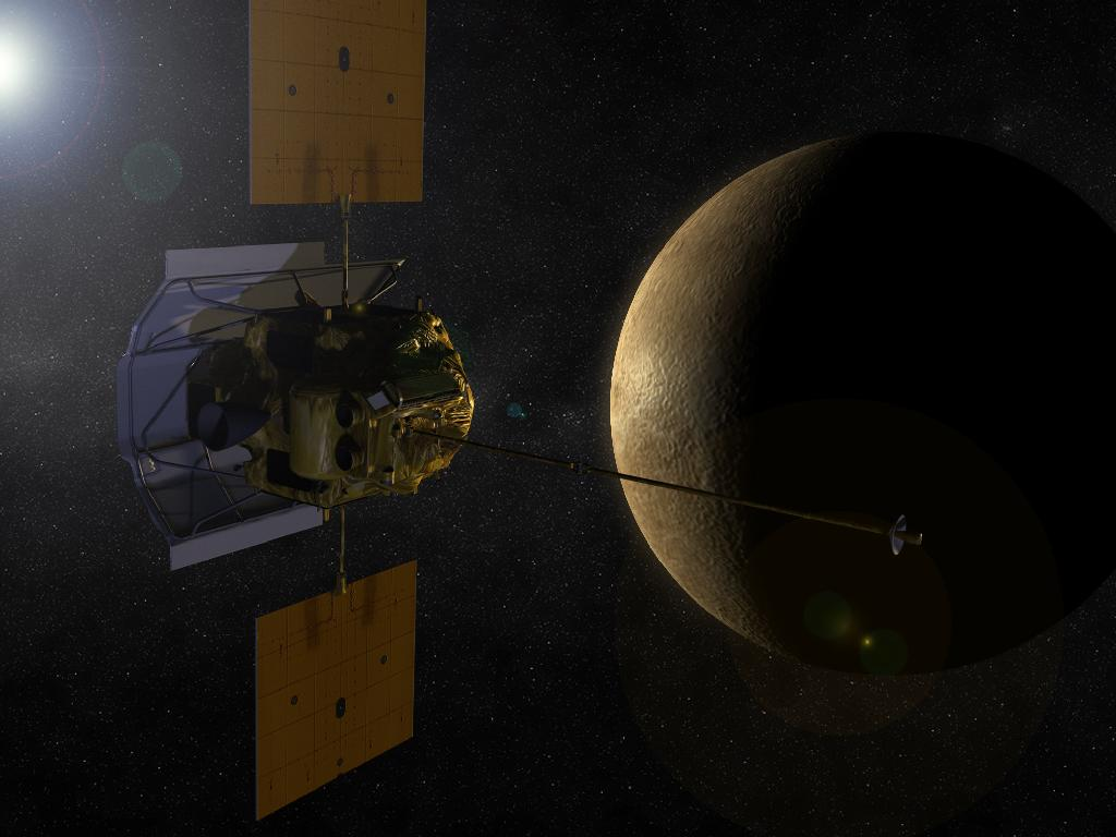 NASA's Messenger Spacecraft Gears Up to Orbit Mercury