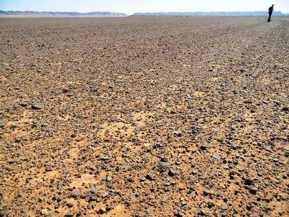 In certain regions in the Morocco desert, you feel as though you are standing on the surface of Mars. Scientists are using the region to test ExoMars mission instruments.
