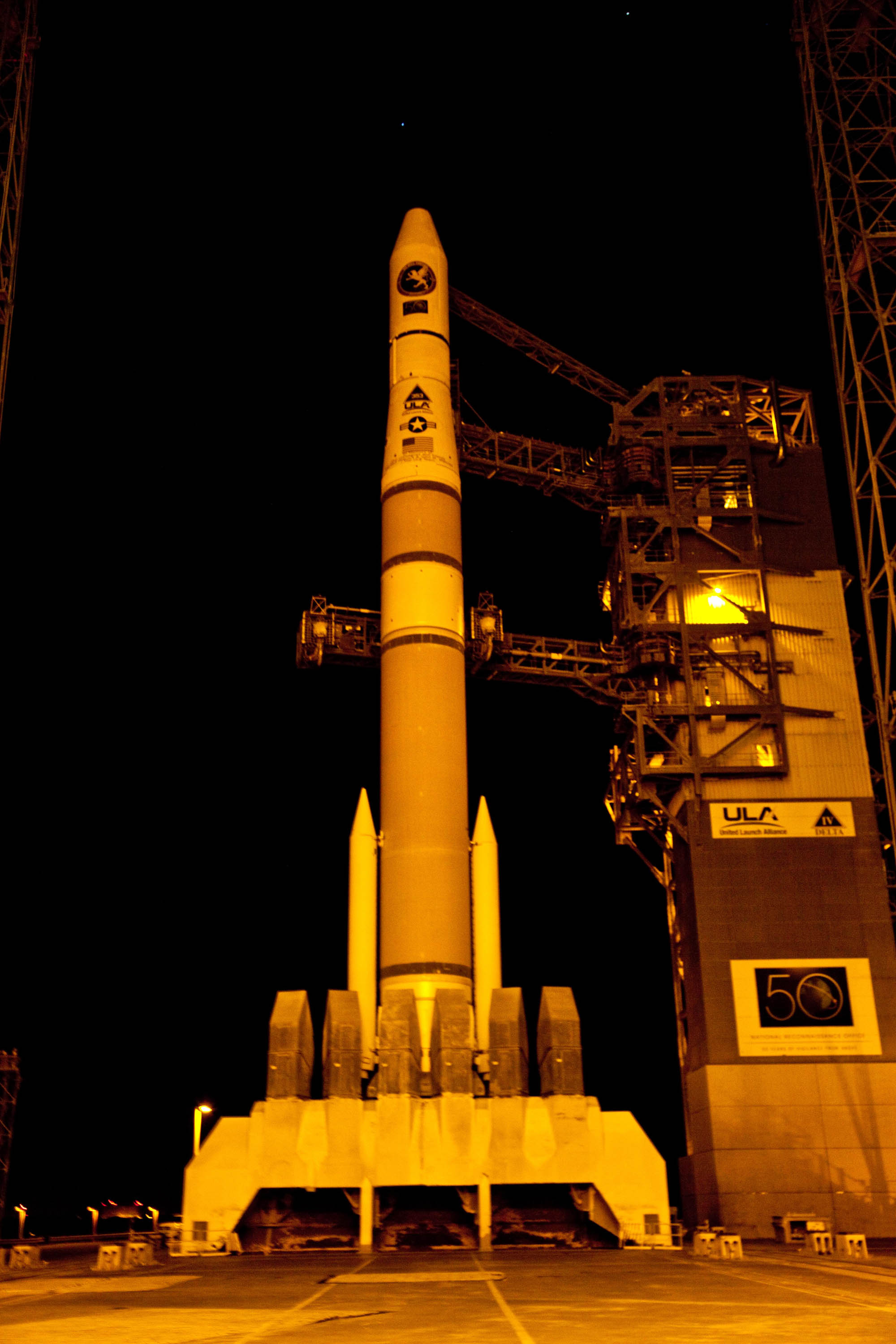 Launching Tonight: New Classified Spy Satellite for U.S. Reconnaissance