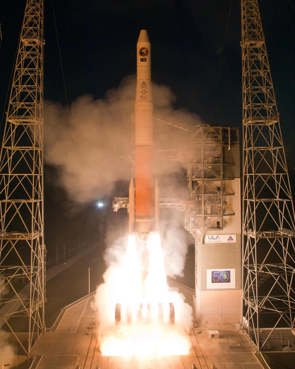 New U.S. Spy Satellite Blasts Off On Secret Mission