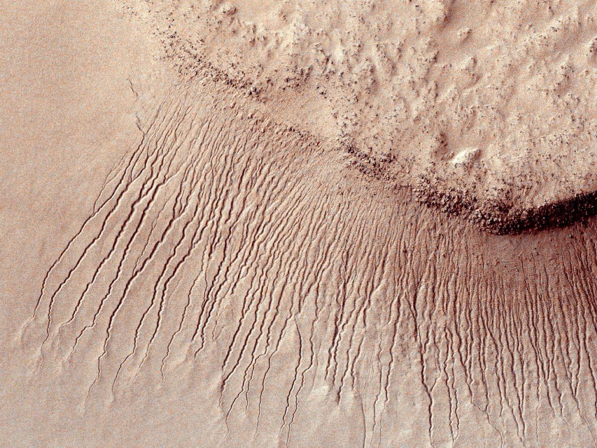 MRO Sees Gullies on Mars
