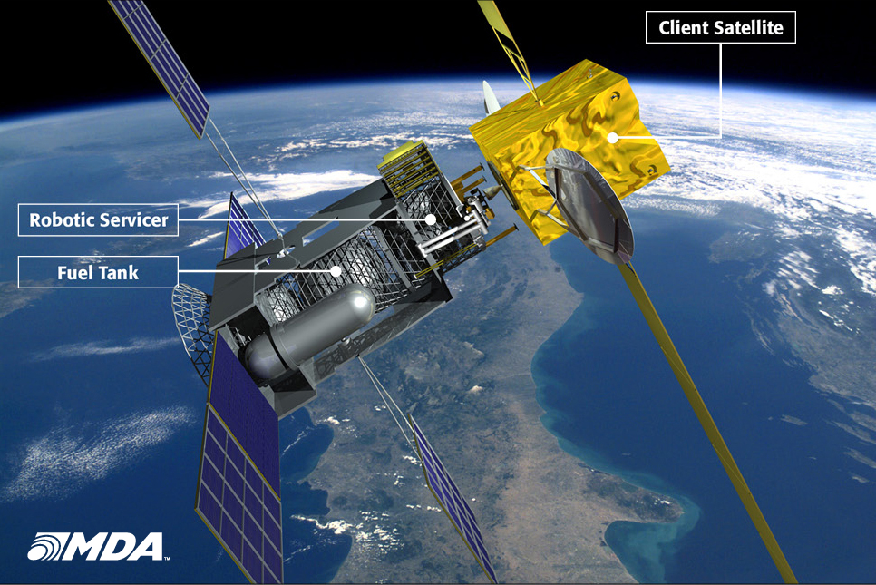 Another Proposed Satellite Servicing Spacecraft
