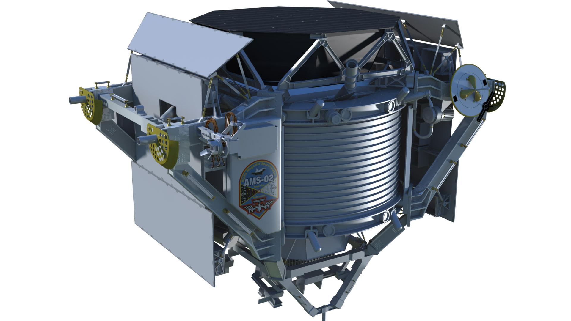Alpha Magnetic Spectrometer - Artist's Concept