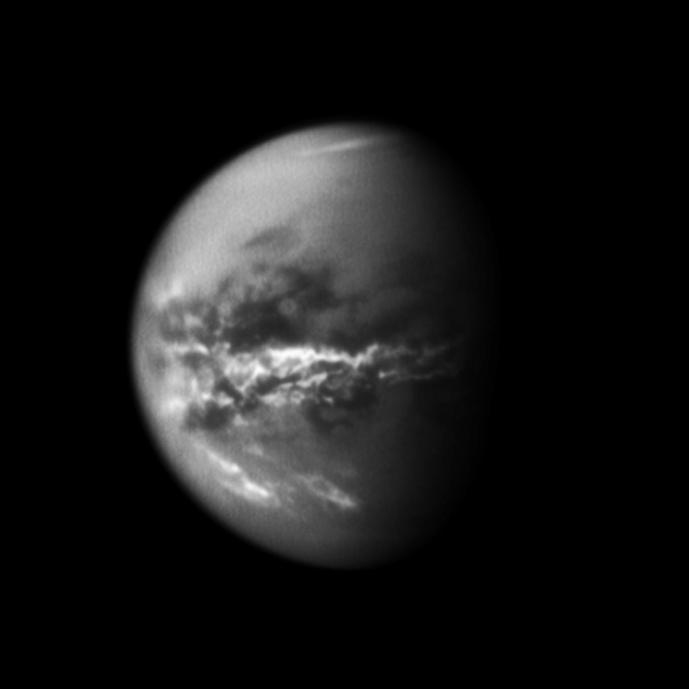 Titan - methane rain