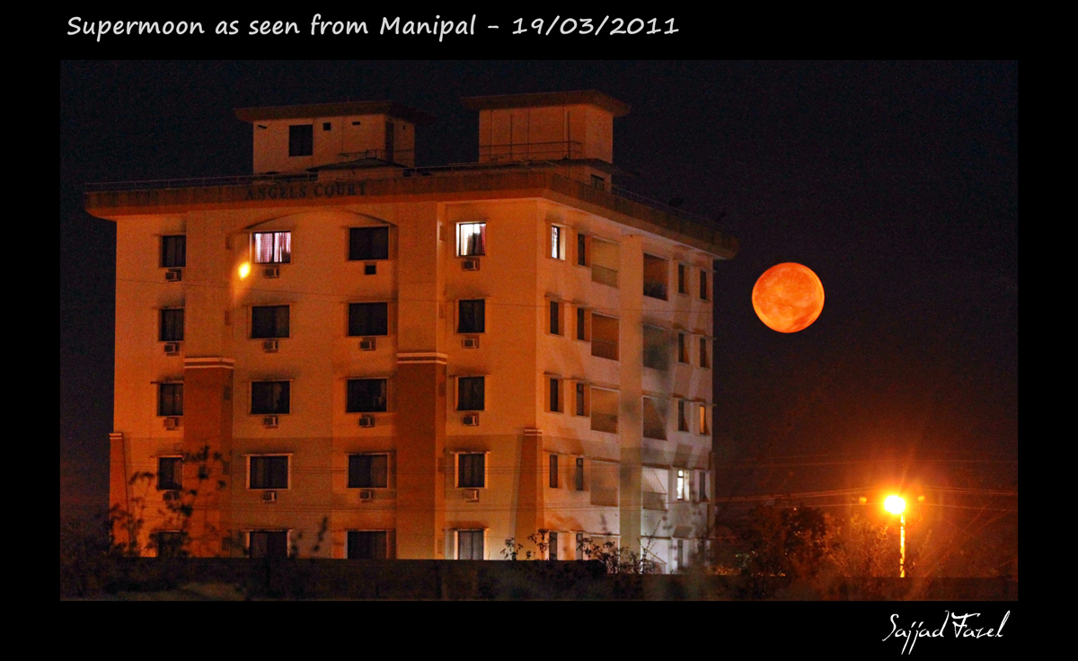 Supermoon Over India