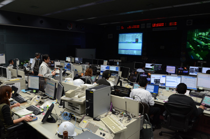 Japan Reopens Space Station Control Room After Quake