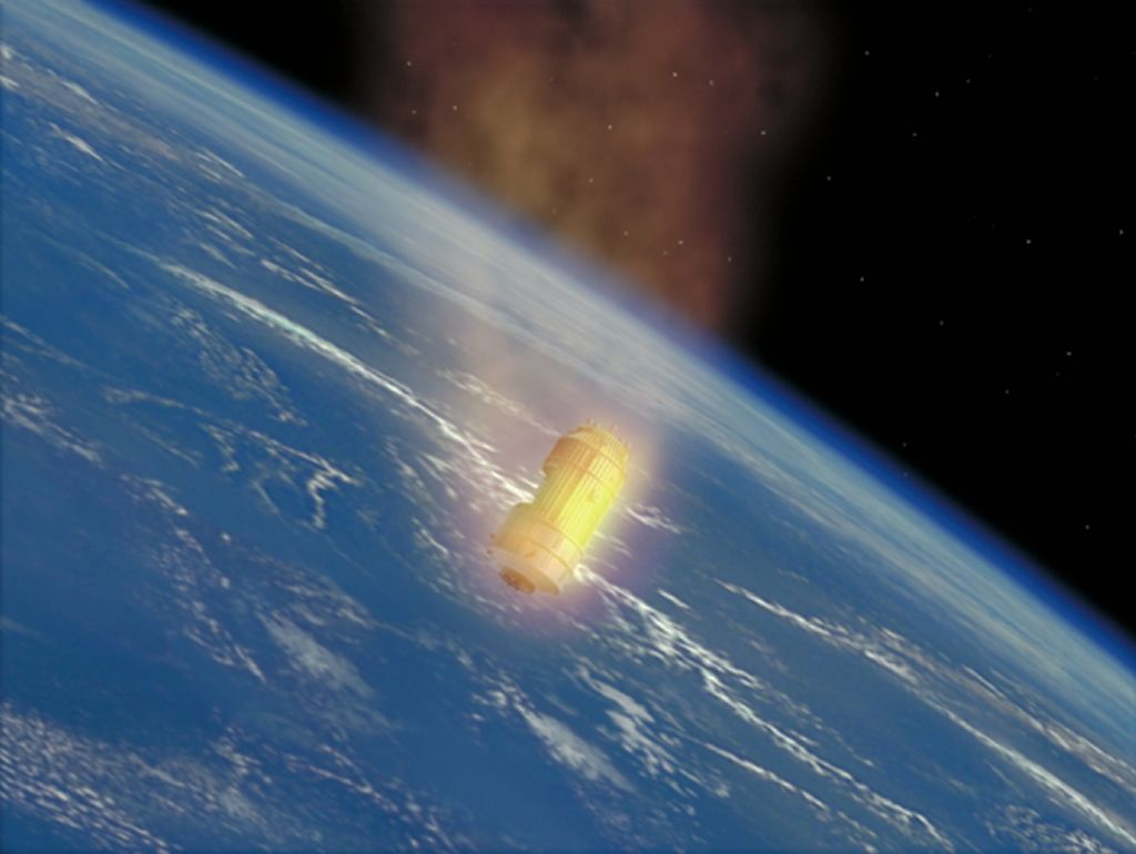 Japanese Spaceship Loaded with Garbage Burns Up in Earth's Atmosphere