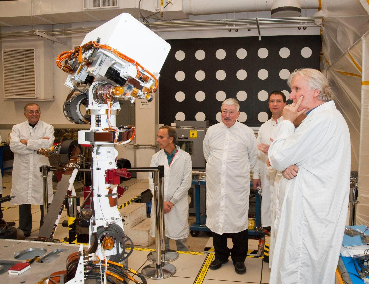 Sorry, James Cameron: NASA Nixes 3-D Camera for Next Mars Rover
