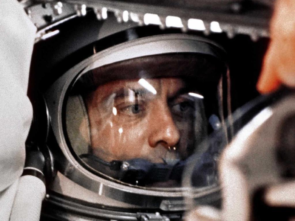 Alan Shepard Aboard Freedom 7