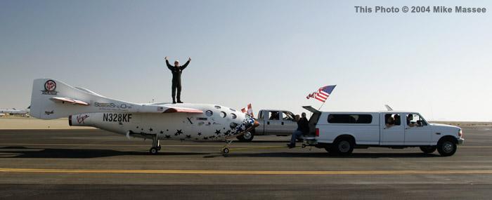 SpaceShipOne Reaches the Heavens — Twice