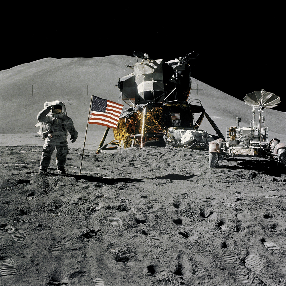 Lunar Legacy: 45 Apollo Moon Mission Photos