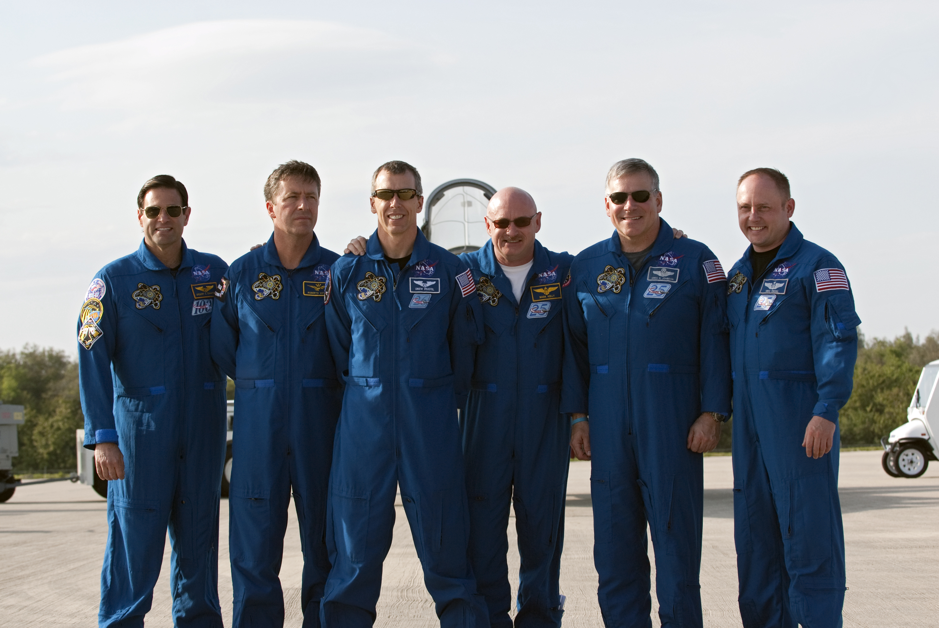Endeavour Shuttle Astronauts Arrive in Florida for Launch Practice