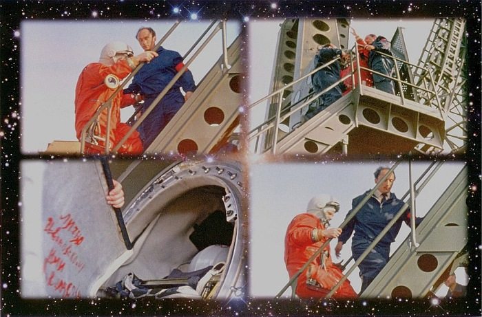 Rare Photos of Yuri Gagarin Before His Historic Flight