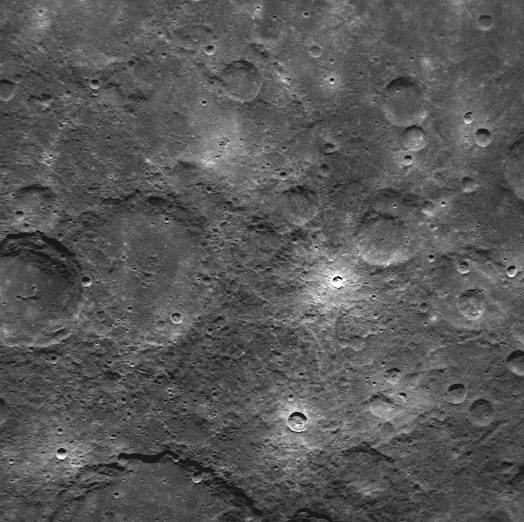 Mercury: A Narrow Angle View