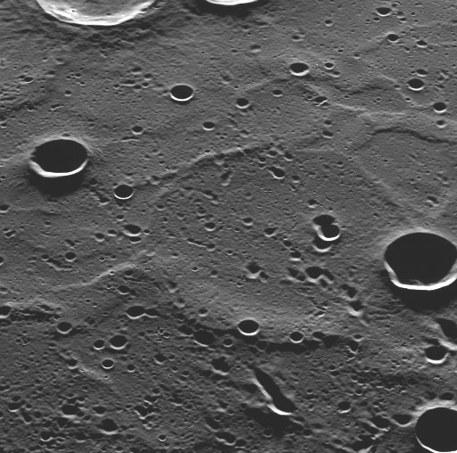 Smooth Never-Before-Seen Plains of Mercury