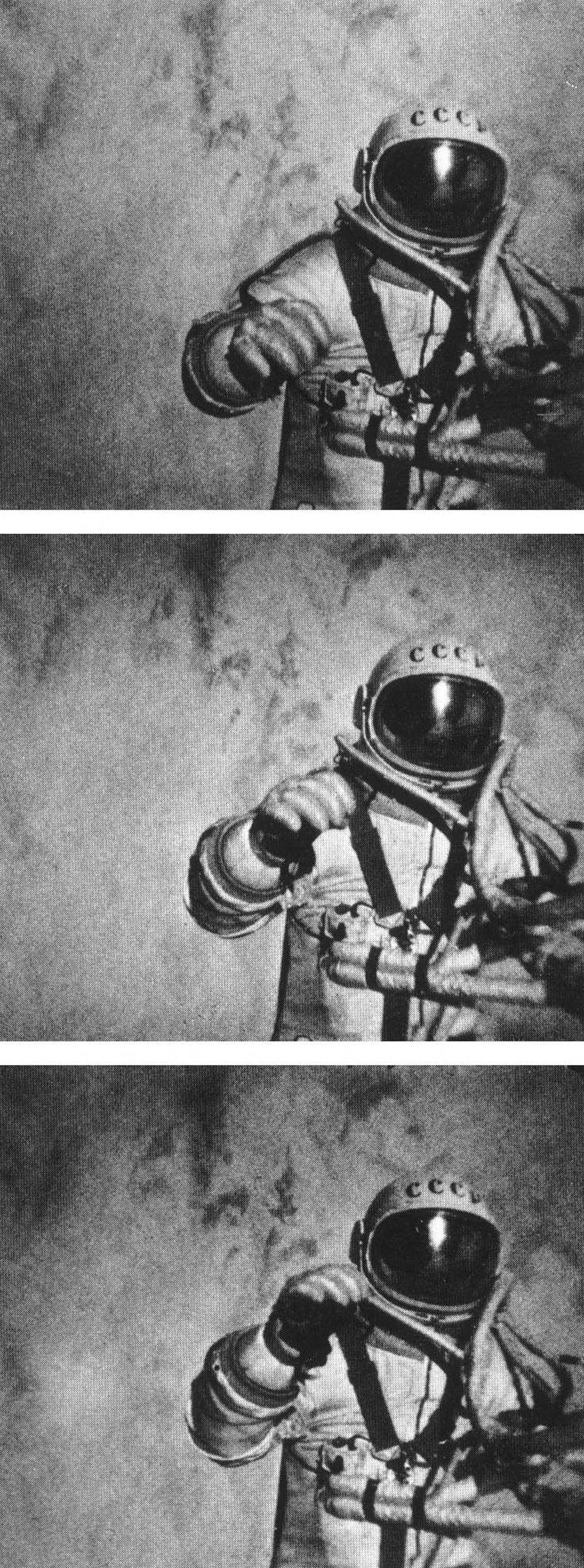 The First Spacewalk
