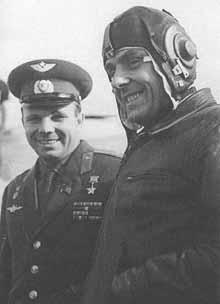 Vladimir Komarov, Soyuz 1