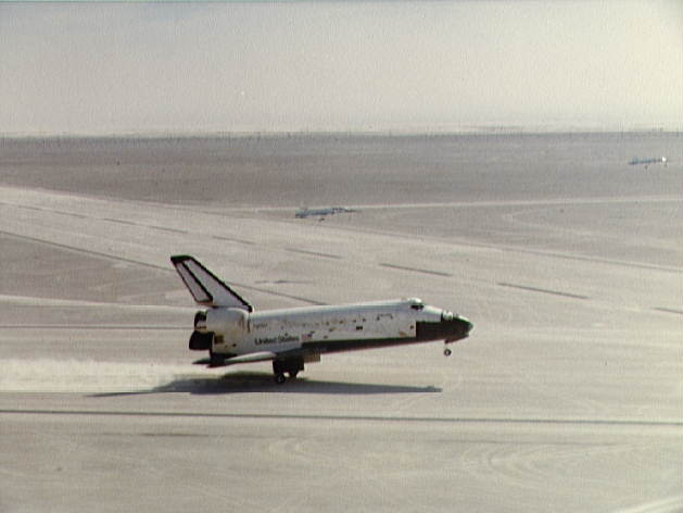 A Shuttle Lands at White Sands: STS-3 (Columbia)