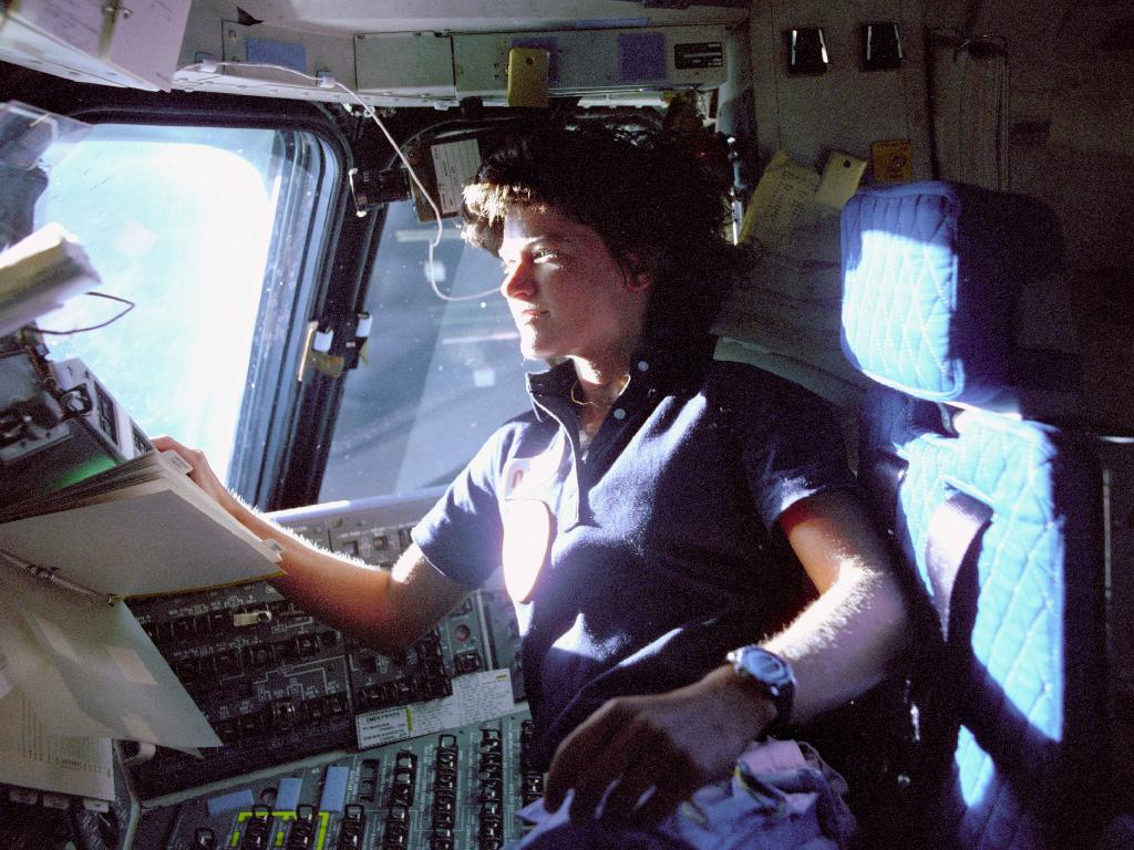 First American Woman in Space: STS-7 (Challenger)