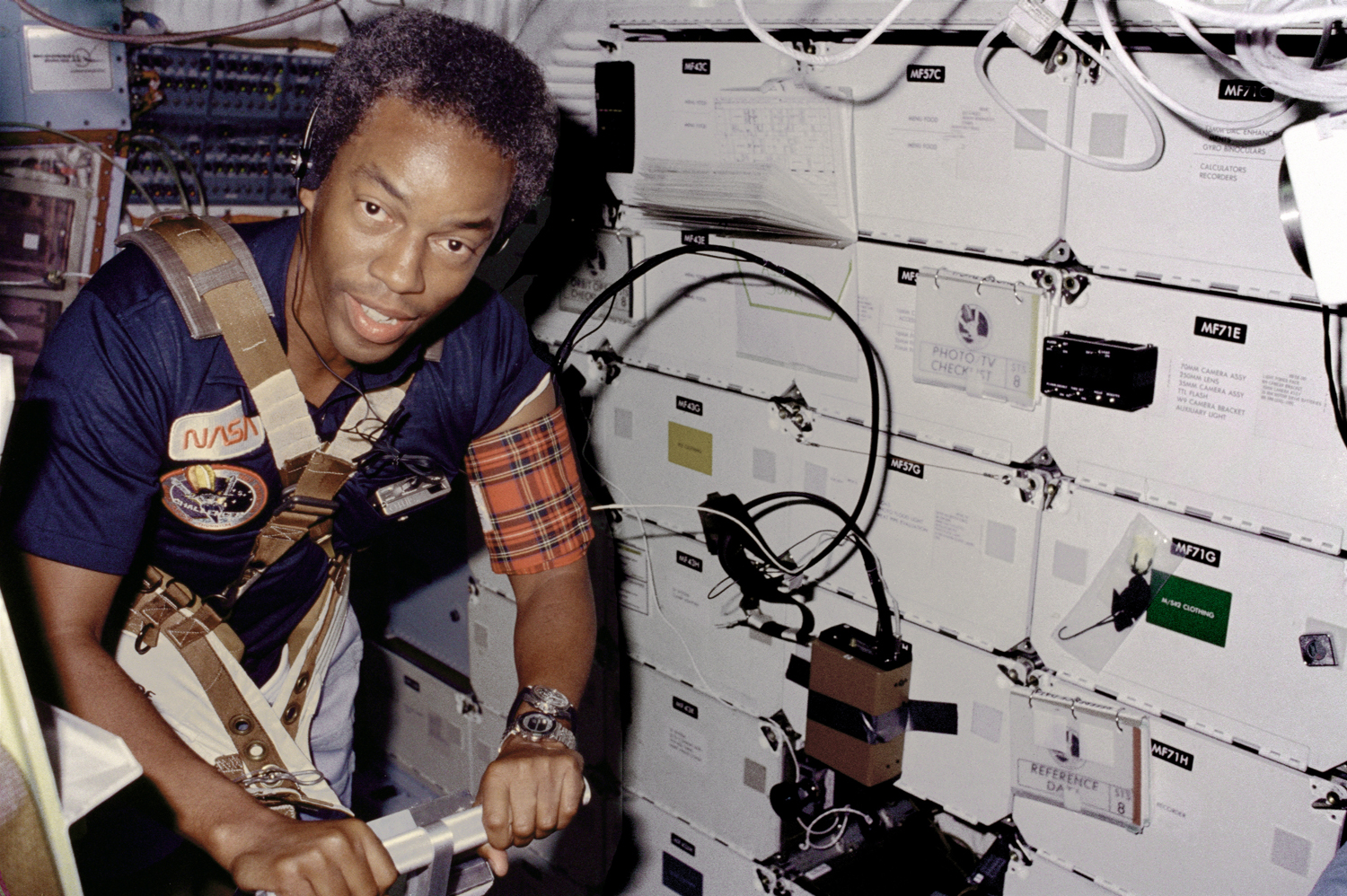 First African-American Astronaut Reaches Space: STS-8 (Challenger)