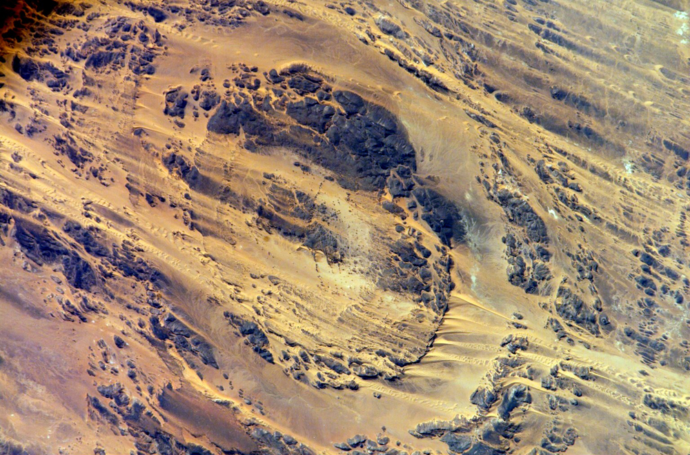 The Aorounga Impact Crater in Chad