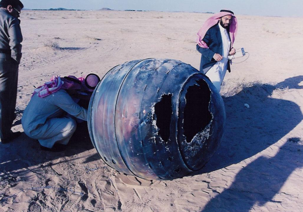Space Debris Desert Dropdown