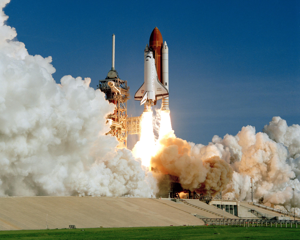 Space Shuttle Discovery's Inaugural Launch