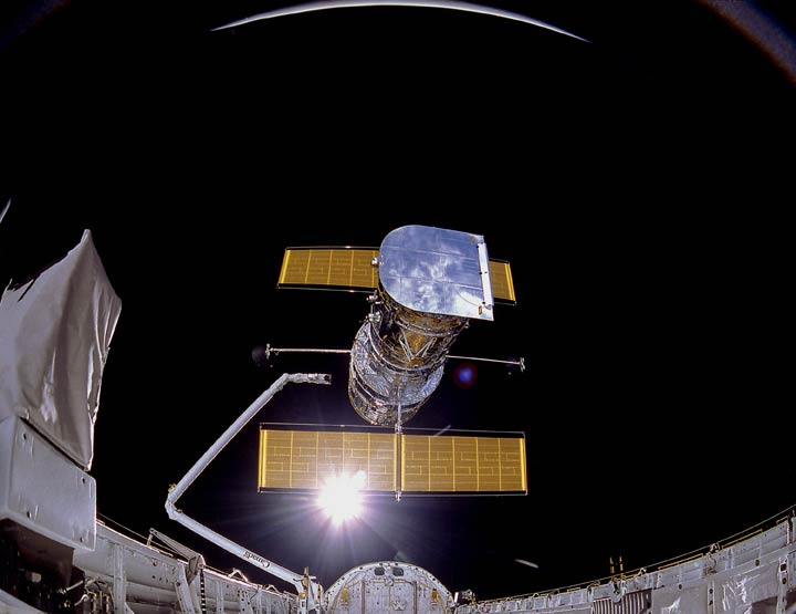 Discovery Deploys Hubble