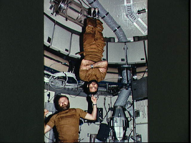 Balancing Act Onboard Skylab
