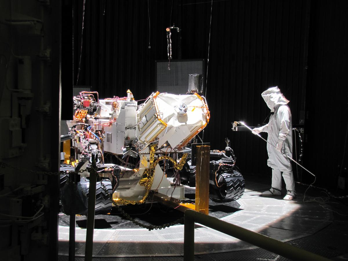 Testing the Mars Science Laboratory Rover, Curiosity