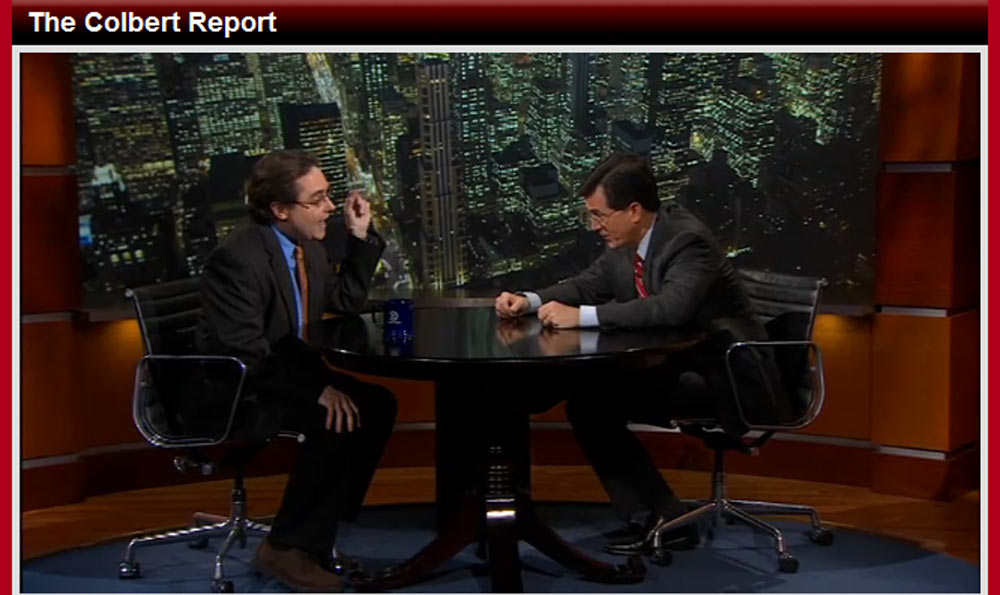 Space Historian Urges Changes for NASA on TV's Colbert Report