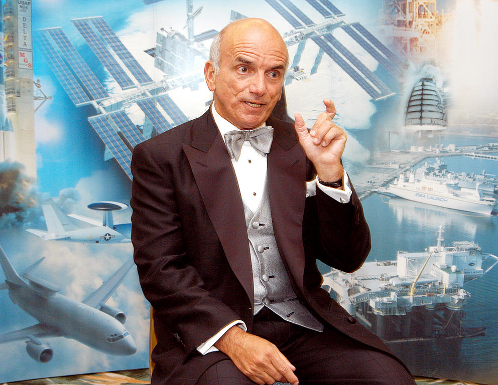 Dennis Tito Talks About His Space Tourist Flight