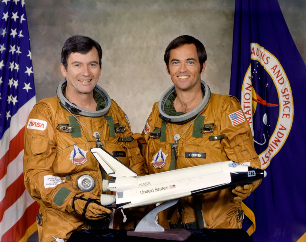 Young and Crippen: History's 1st Shuttle Flyers