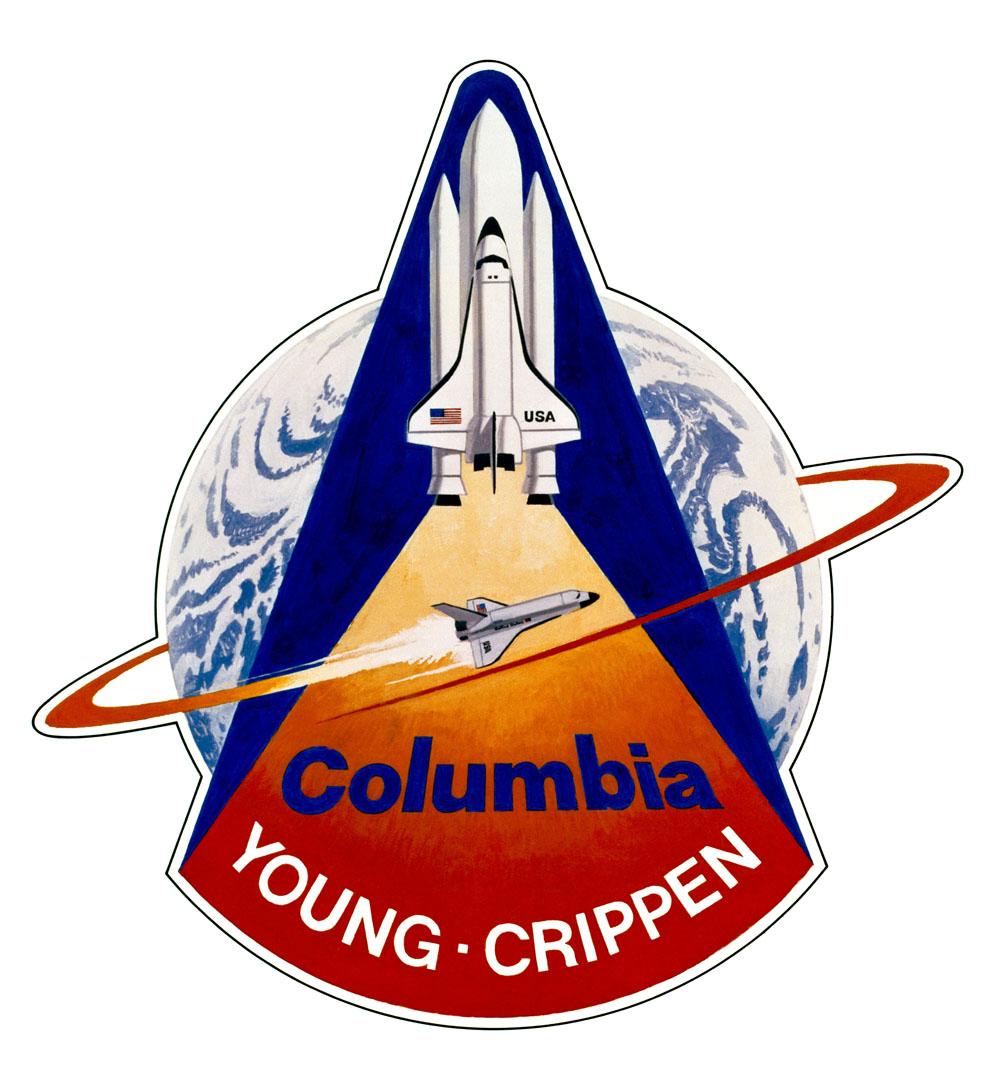 STS-1: A Mission's Emblem